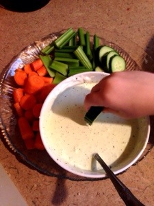 Goat Cheese Dill Dip