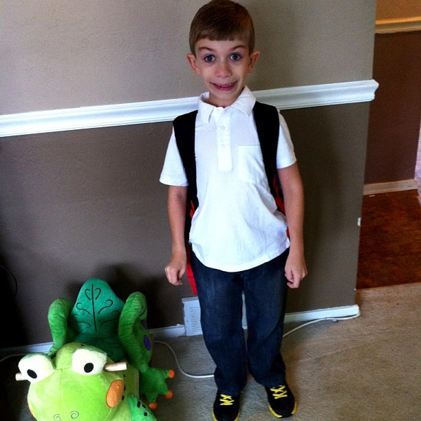 First Day of First Grade Again