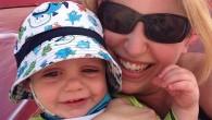 Baby Bean at the Beach